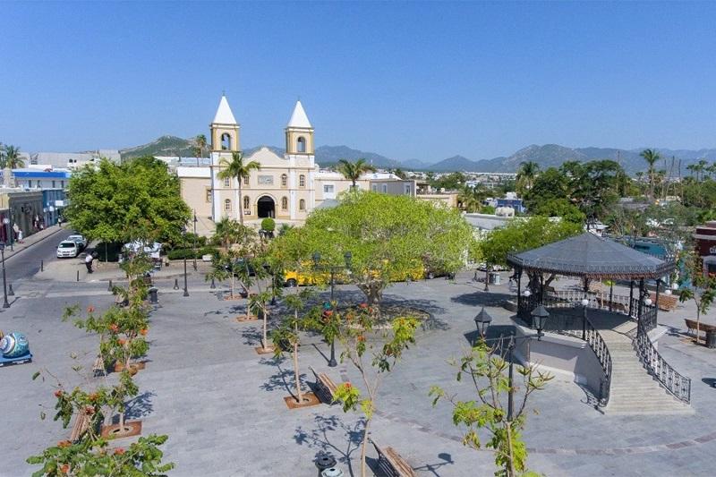 Beleza da Plaza Mijares em Los Cabos