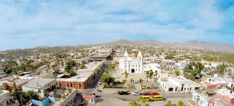 Região da Plaza Mijares em Los Cabos