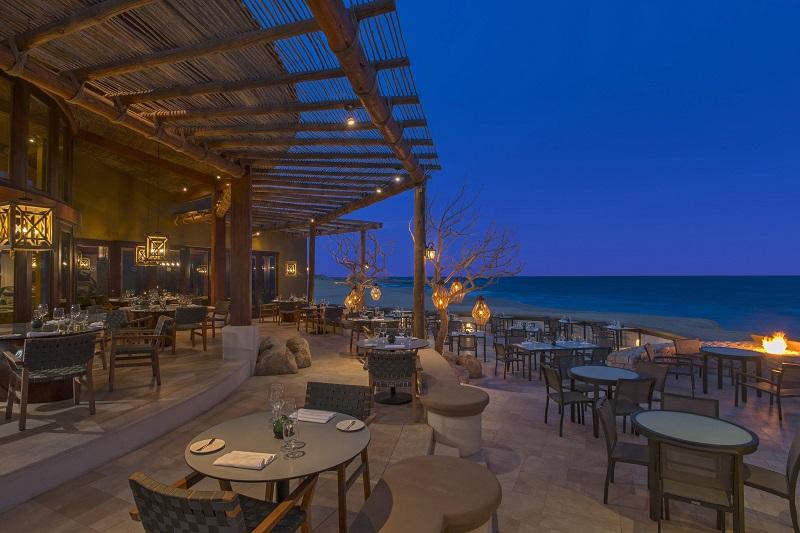 Refeição no De Cortez Restaurante em Los Cabos