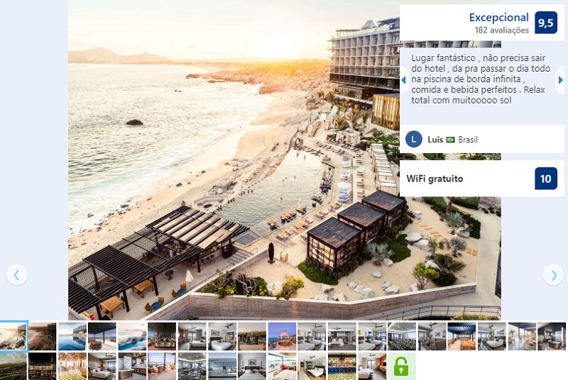 Fachada do The Cape – a Thompson Hotel em Los Cabos em Cabo San Lucas