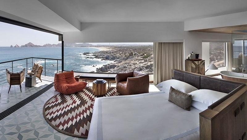 Quarto do The Cape – a Thompson Hotel em Los Cabos em Cabo San Lucas