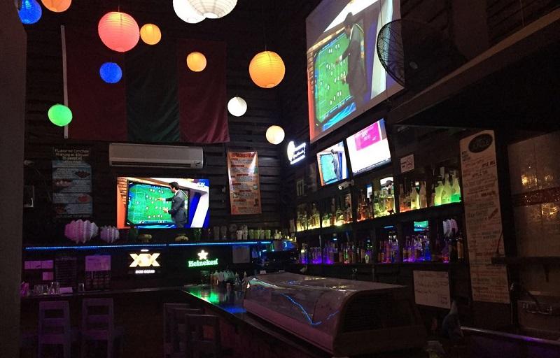 The Jungle Bar em Los Cabos