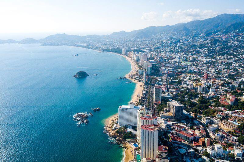 Panorâmica de Acapulco