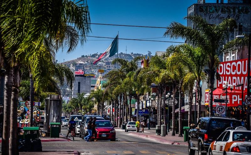 Avenida Revolución em Tijuana no México