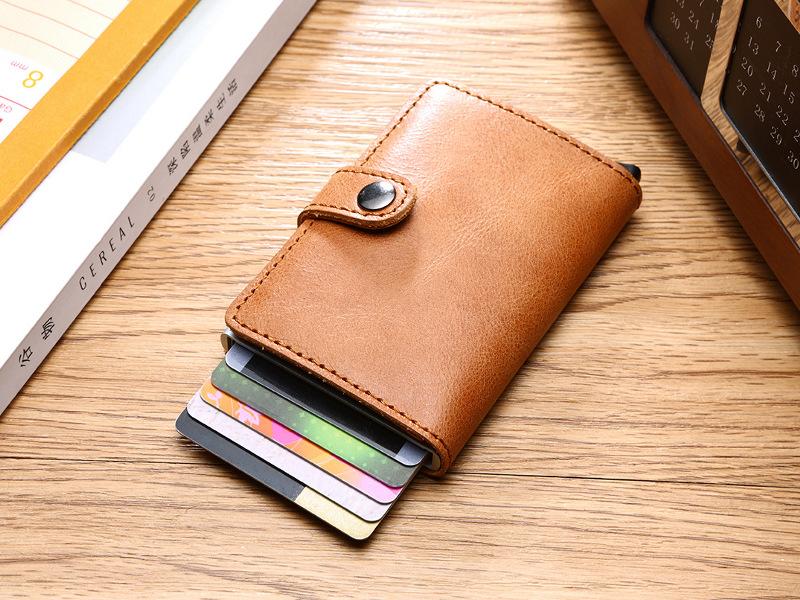 Carteira com cartões de crédito