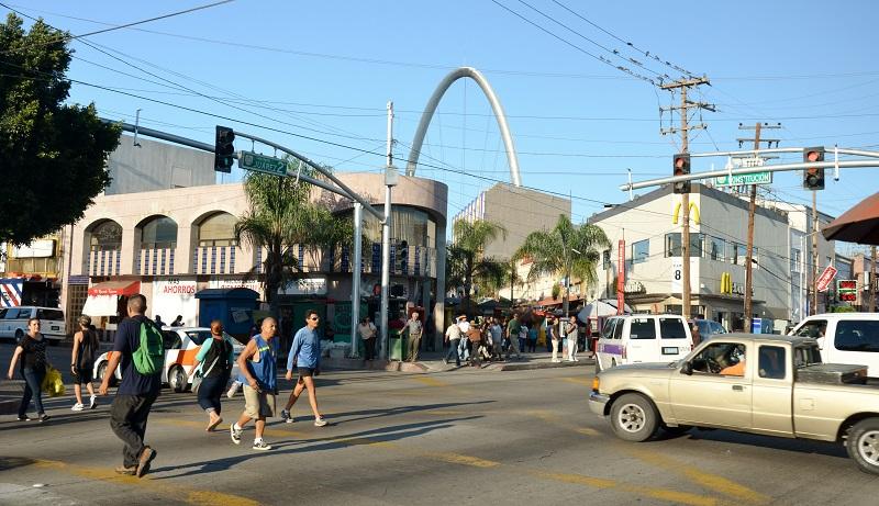 Centro de Tijuana no México
