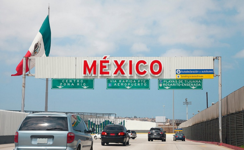 Dirigir em Tijuana no México