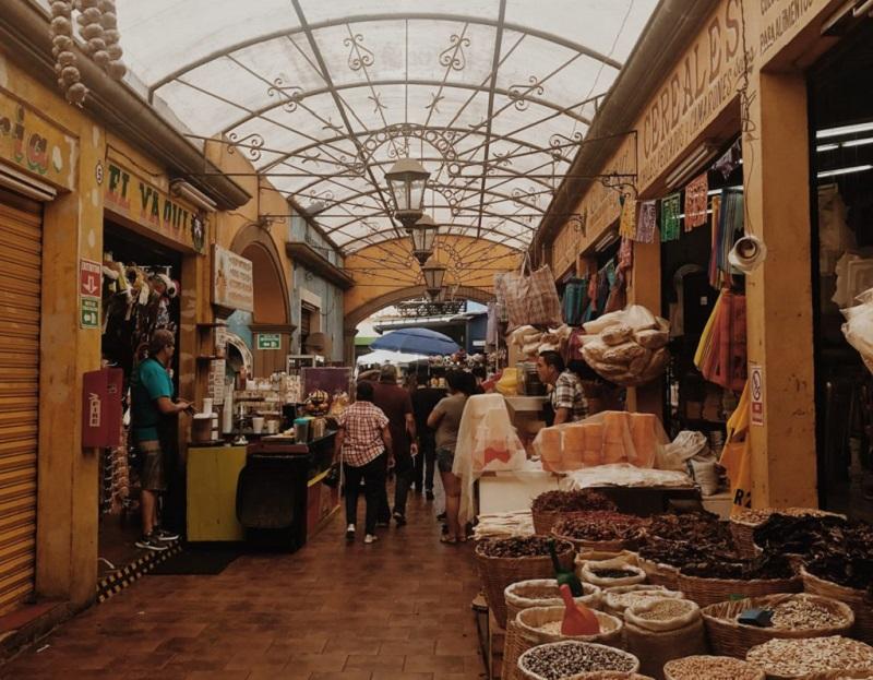 El Popo Market de Tijuana no México
