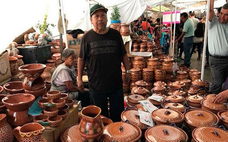 Compras no Mercado de Artesanias em Tijuana