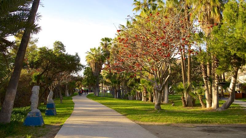 Beleza do Parque Morelos em Tijuana