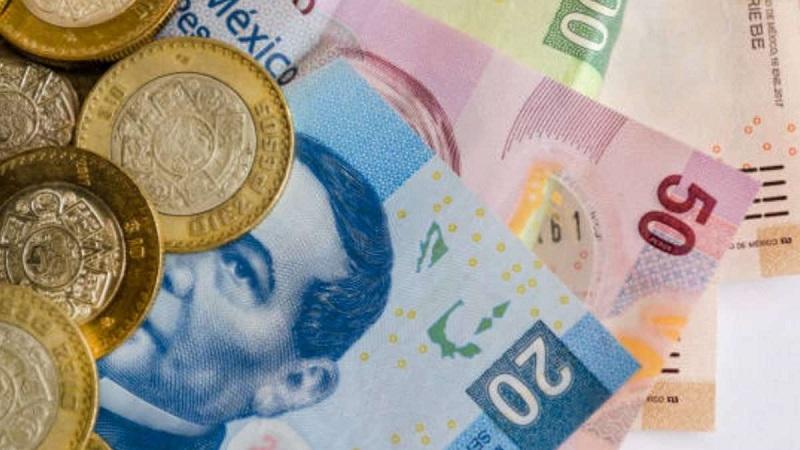 Dinheiro vivo / pesos mexicanos em espécie