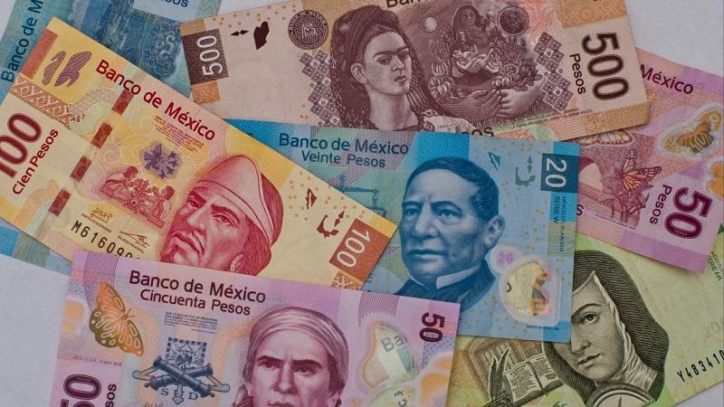 Pesos mexicanos em Playa del Carmen: Dinheiro vivo
