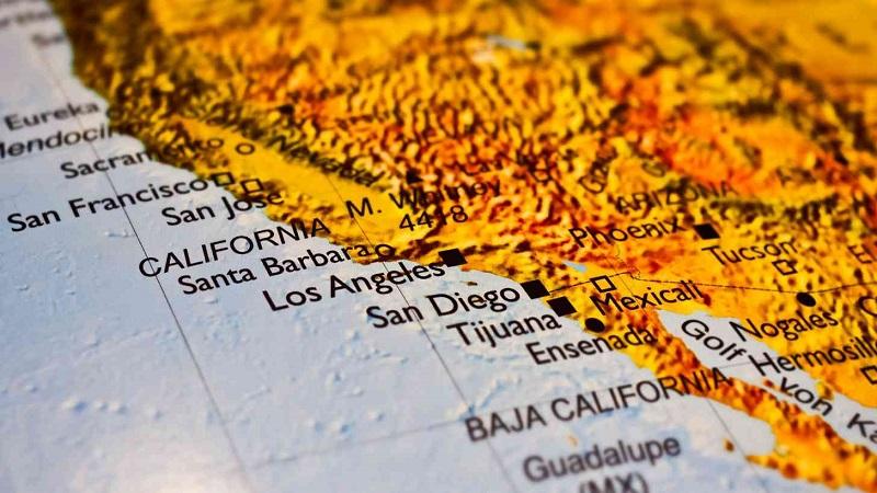 Localização Tijuana