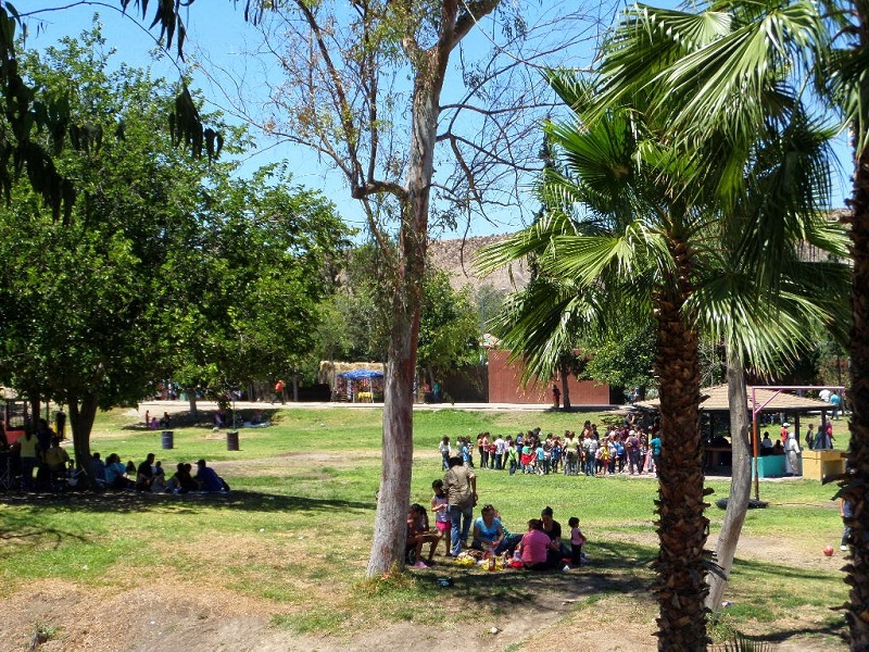 Piquenique no Parque Morelos em Tijuana