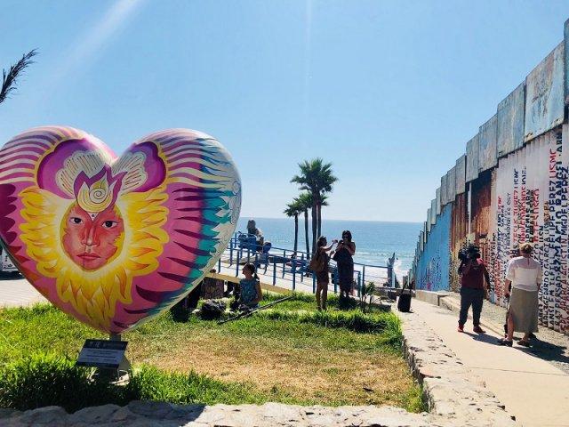 Mapa turístico de Tijuana