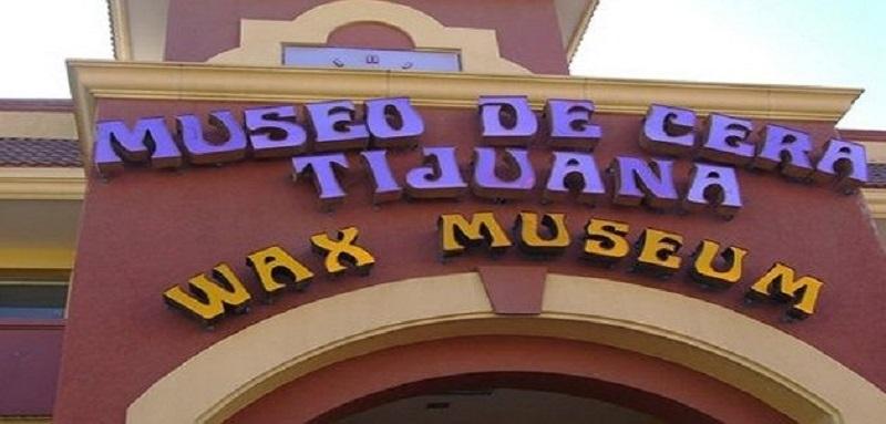 Fachada do Museo de Cera em Tijuana