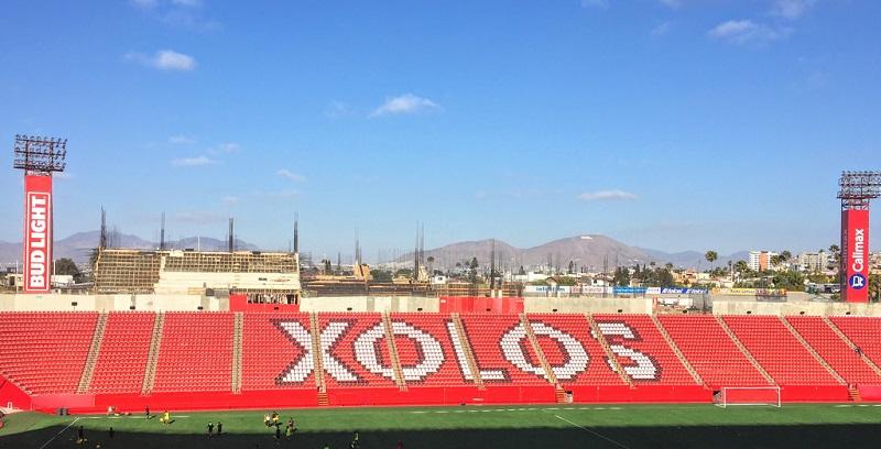 Estádio Caliente e Time Xolos Tijuana