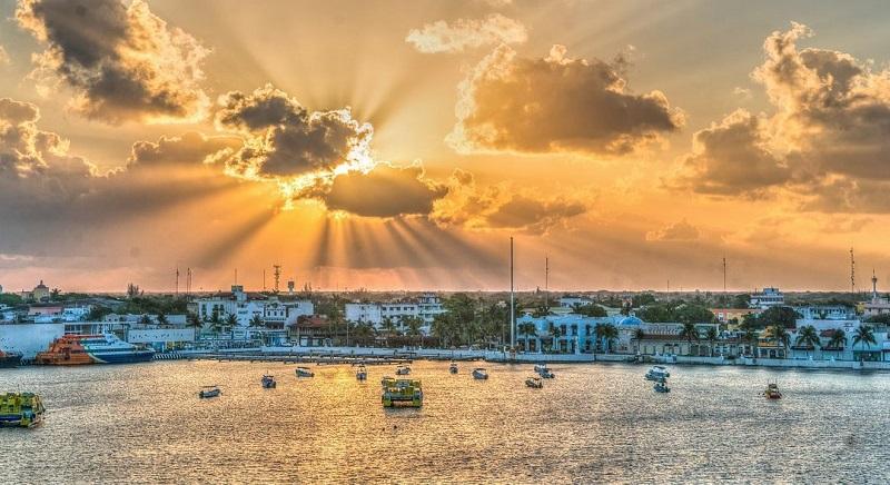 Sol em Cancún