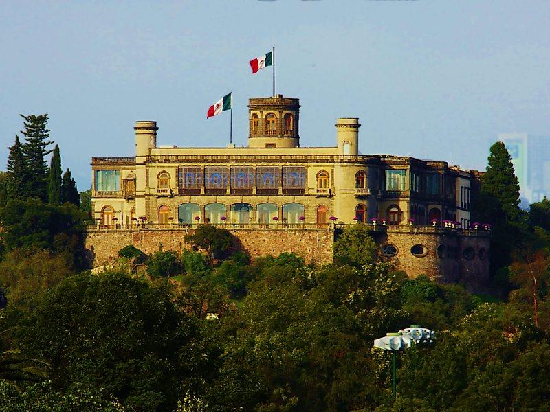Castelo Chapultepec na Cidade do México
