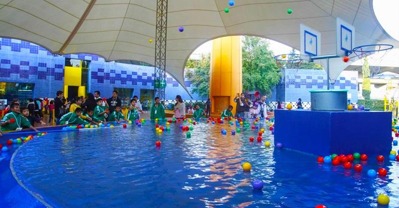 Estrutura do Papalote Museo del Niño na Cidade do México