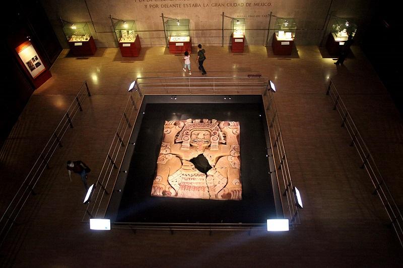 Acervo do Museu do Templo Mayor na Cidade do México