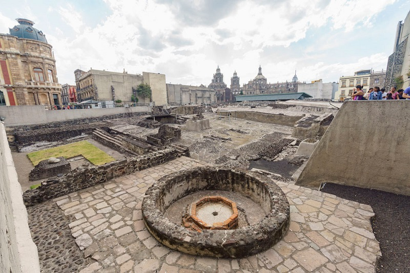 Museu do Templo Mayor na Cidade do México