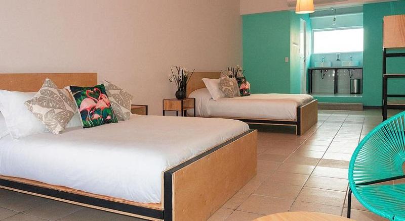 Quarto do Mayan Monkey Hostel Cabo em Los Cabos