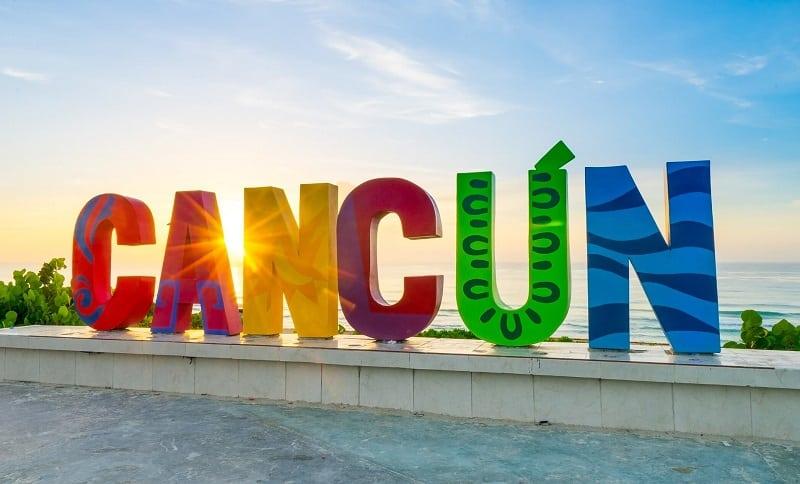 Fachada de Cancún