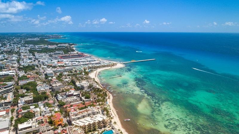 Beleza natural de Cancún