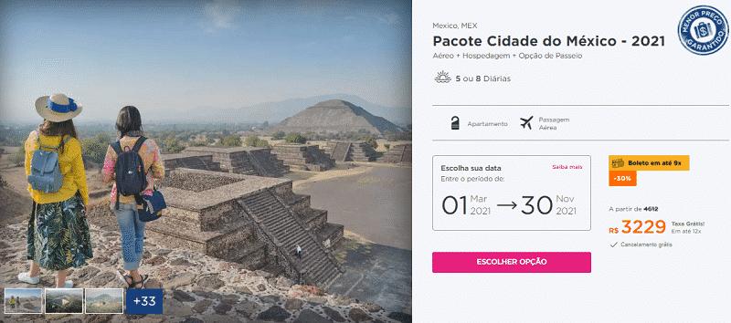 Pacote Cidade do México - Hurb