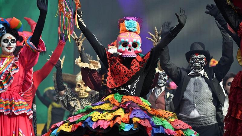 Dia de Los Mortos em Cancún - México