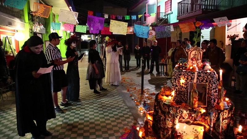 Dia de Los Mortos em Tijuana