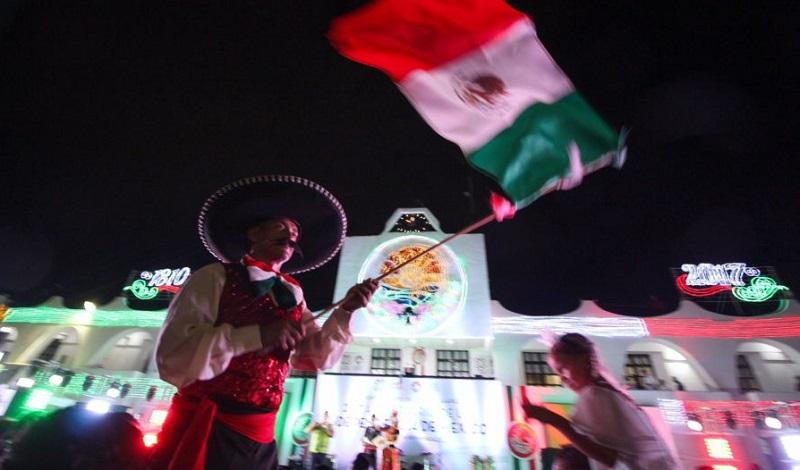 Grito de Independência em Cancún