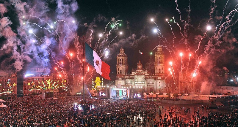 Grito de Independência - Cidade do México