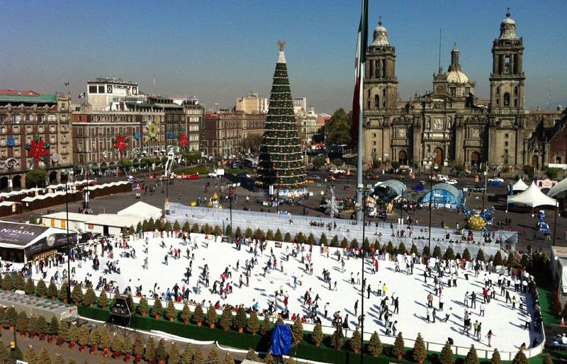 Inverno na Cidade do México