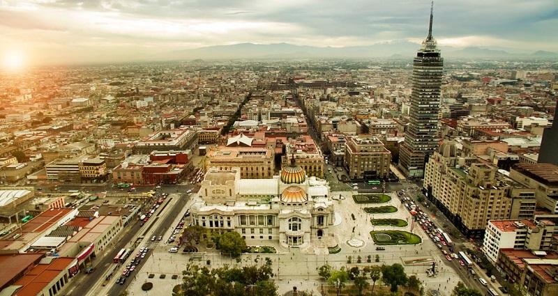 Panorâmica da Cidade do México