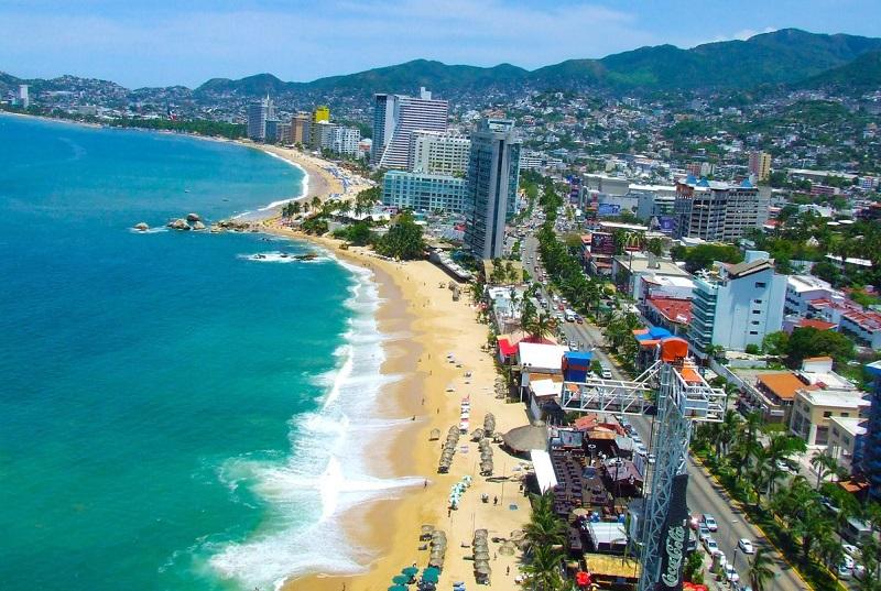 Zona Dorada em Acapulco