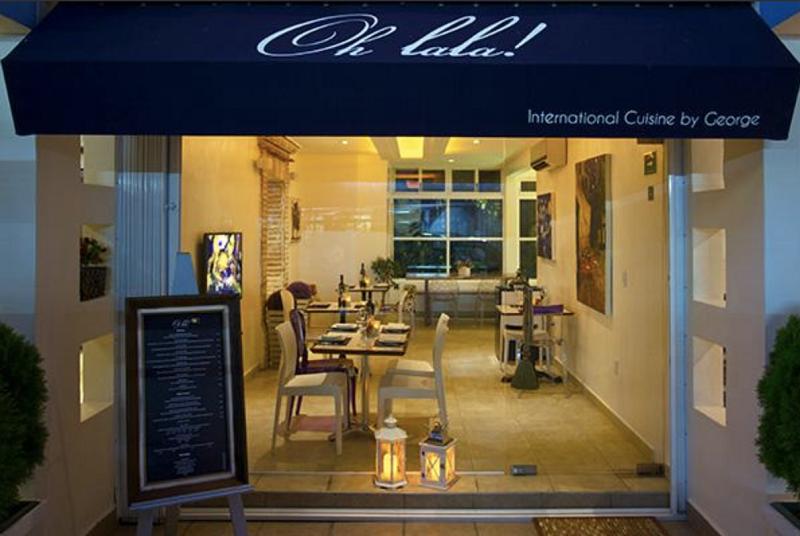 Restaurante Oh lala! International Cuisine by George em Playa del Carmen
