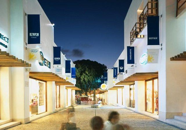 Shoppings em Playa del Carmen