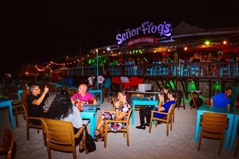 Bar Señor Frogs em Playa del Carmen