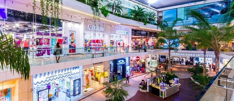Shopping para compras em Playa del Carmen