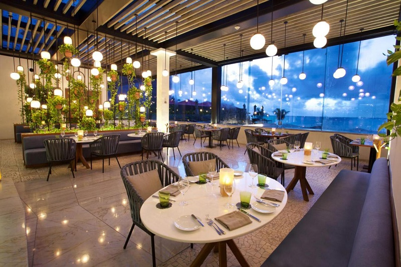 Restaurante The Grill at 1-26 em Playa del Carmen