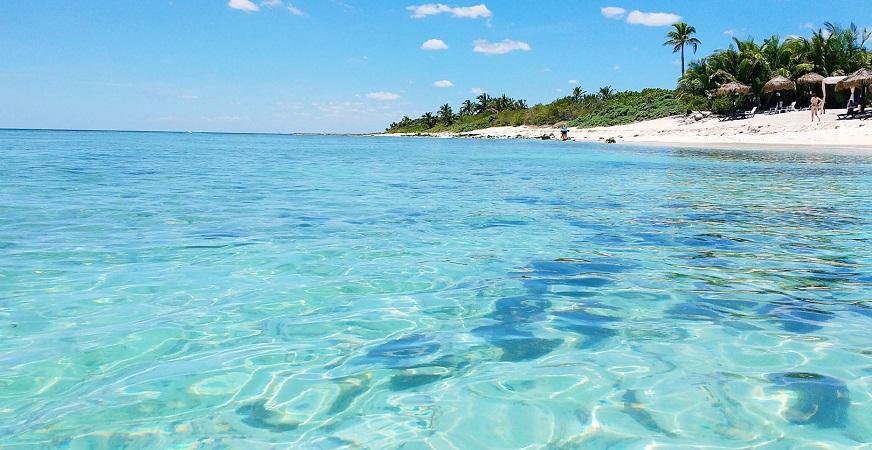 Melhores praias em Playa del Carmen