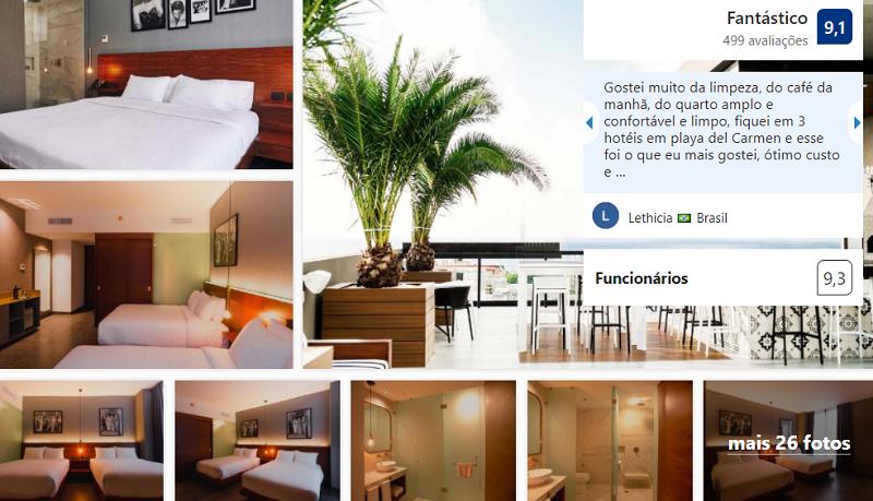 Marquee Playa Hotel em Playa del Carmen