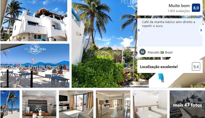 Pelicano Inn Playa del Carmen - Beachfront Hotel