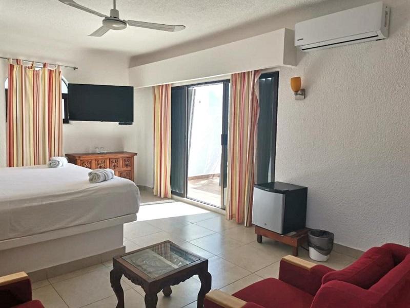 Quarto do hotel Pelicano Inn Playa del Carmen