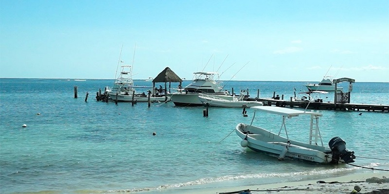 Playa Puerto Morelos em Playa del Carmen