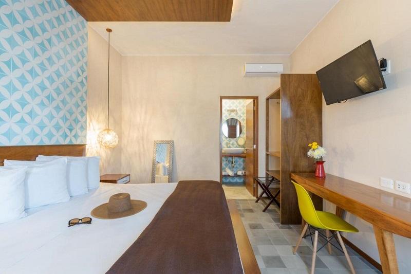 Quinta Margarita - Boho Chic Hotel em Playa del Carmen - Quarto